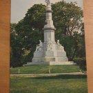 Vintage Soldiers National Monument Postcard