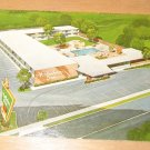 Vintage Holiday Inn Big Spring Texas Postcard