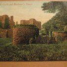 Vintage Kenilworth Castle And Mortimer's Tower UK Postcard