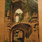 Vintage Entrance To Banqueting Hall Kenilworth Castle UK Postcard