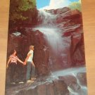 Vintage Beautiful Northeast Georgia Tempesta Falls Postcard