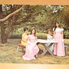Vintage Candidates For Pocono Mountains Laurel Blossom Festival Queen Postcard