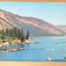 Vintage Lake Chelan Washington Postcard