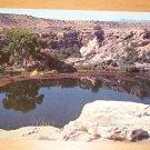 Vintage Montezuma Well Camp Verde Arizona Postcard