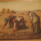 Vintage The Gleaners Painting By Jean-Francois Millet Postcard