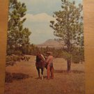 Vintage Out Where The West Begins Postcard