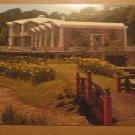 Vintage Botanical Gardens And Admin Building Norfolk Virginia Postcard