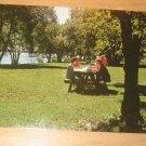 Vintage Picnic Area Centennial Park Ontario Canada Postcard