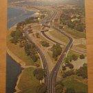 Vintage Fred Gardiner Parkway Toronto Ontario Canada Postcard