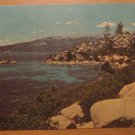 Vintage Shoreline Lake Tahoe Nevada Postcard