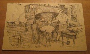 Vintage Raleigh Tavern Bake Shop Williamsburg Virginia Postcard