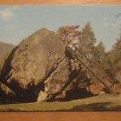 Vintage Bowder Stone Borrowdale Keswick Postcard