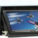 Two Din touch screen monitor with car DVD