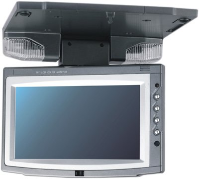7 inch  roof mount TFT-LCD monitor