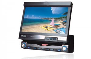 7 inch fully motorized touch screen monitor