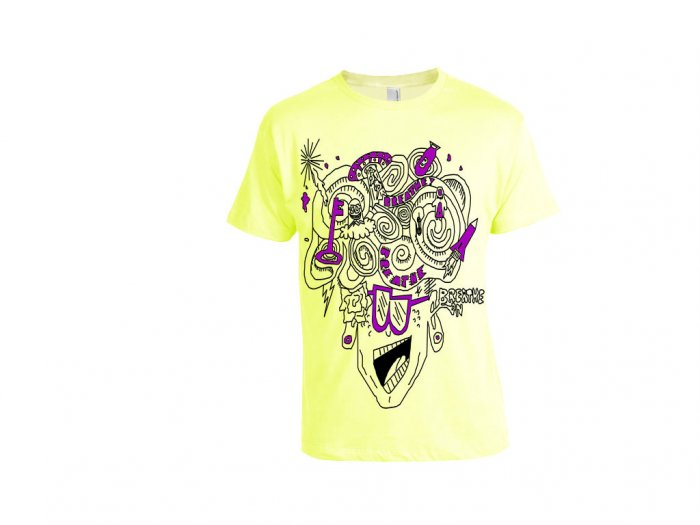 Key to the Future Tee (Lemon)