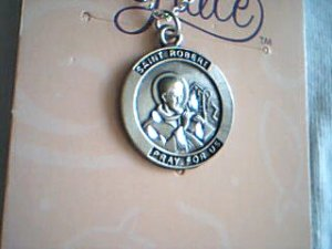 Saint Robert Medal Marks Of Grace Necklace