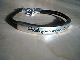 Hitch Your Wagon To A Star Bracelet