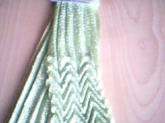 Green Zig Zag Fashion Scarf