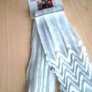 White Zig Zag Fashion Scarf