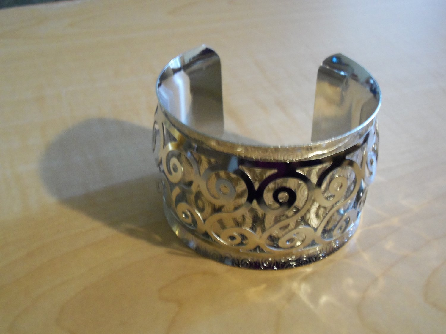Silver Cuff Bracelet sold out