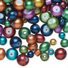 Metallic Glass Beads