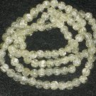 Clear Crackle Beads 8mm - 30 Strand
