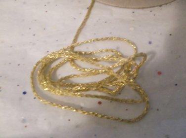 Gold Nylon Cord, 1.5mm - 10 Yards
