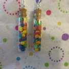 Candy Confetti Filled  Earrings