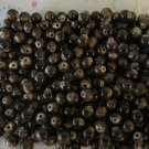 Brown Mottled Beads -8mm