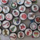 Mixed Christmas Beads - 30 Beads