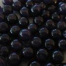 Blue Round Beads, 8mm - 100 Beads