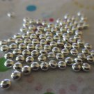 Silver Metal 3x2mm Rondelle Bead - Set of 100