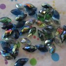 Ocean Mix Faceted Teardrop Beads - Set of 40