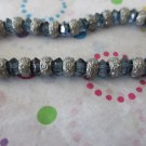 DarK Blue and Silver Fashion Bracelet
