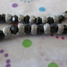 Black and Silver Fashion Bracelets
