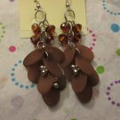 Brown Dangle Earrings