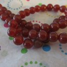 "6mm Round Carnelian Beads- 1 16"" Strand"
