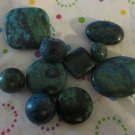 Yellow Turquoise Bead Mix - 9 Beads