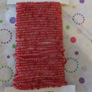 Red Seed Bead Wire
