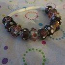 Purple Euro Beads - Mixed Set of 12 Beads