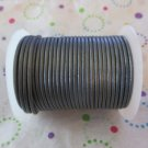 2mm Grey Leather Cord - 25 Yards