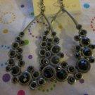 Black Bubble Earrings