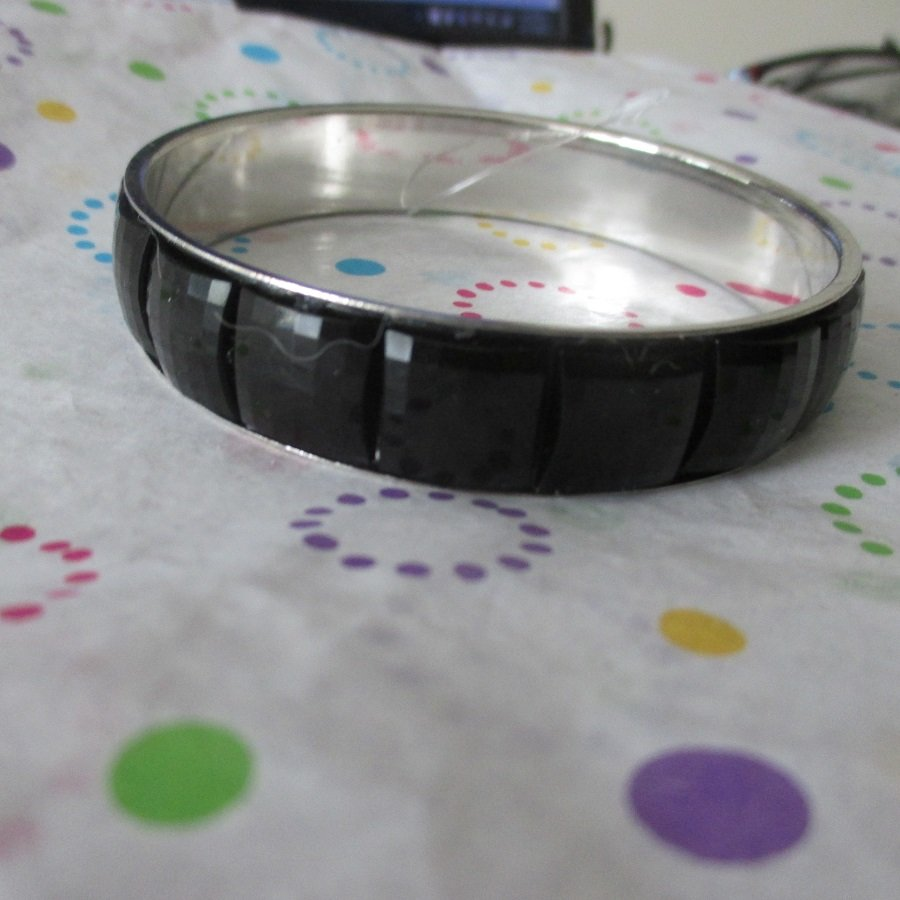 Black Jeweled Bracelet