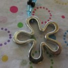 Silver Flower Pendant  Fasion Necklace 22 inches