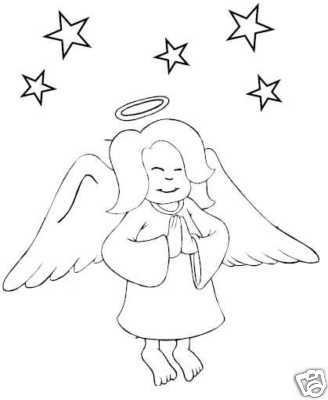 Collection of ANGELS Printable Images 35 Pages