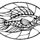 Collection of STAIN GLASS FISH Printable Images 33 Page