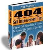 404 Self Improvement Tips Love, Success, Health, Money