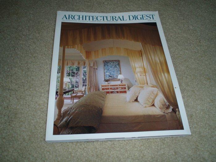 Architectural Digest Magazine, March 1998