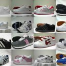 Mix of assorted sports (athletic) shoes